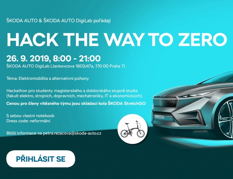 Škoda Auto DigiLab: Hack the Way to Zero