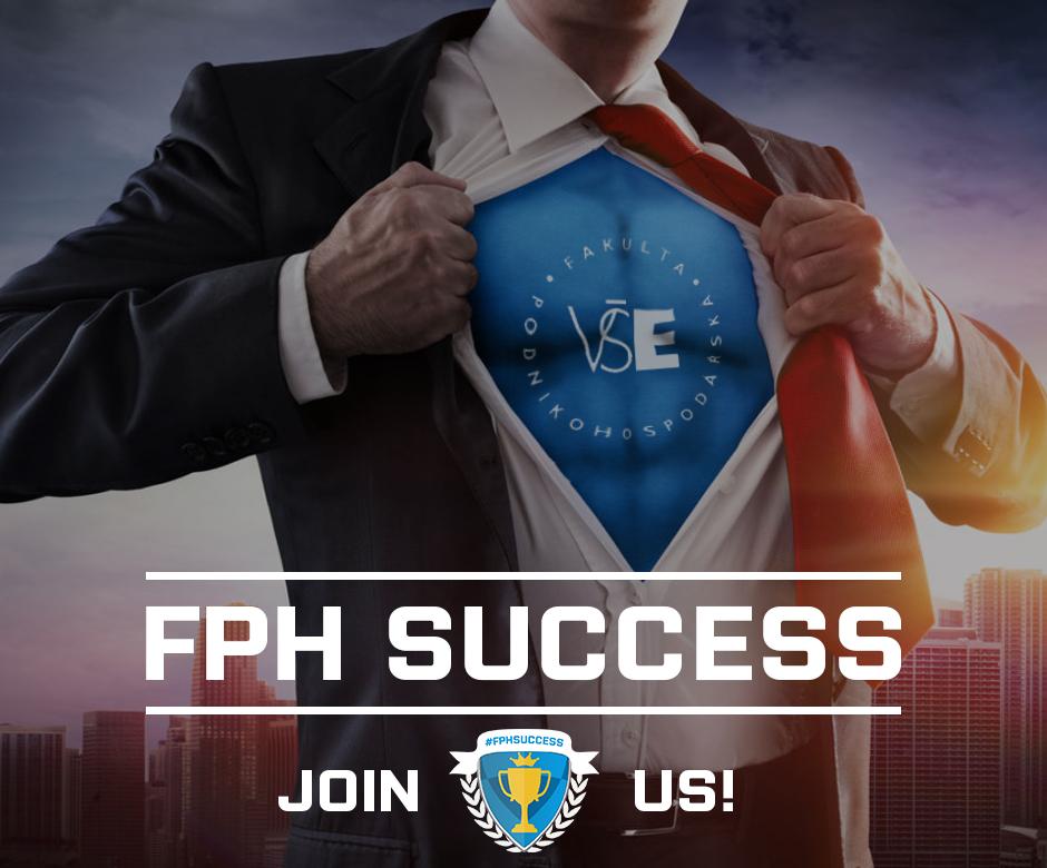 FPH Success je nový projekt pro sdílení úspěchů studentů fakulty