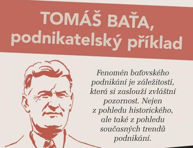 Přednáška na téma: Tomáš Baťa, Podnikatelský příklad /4.3./