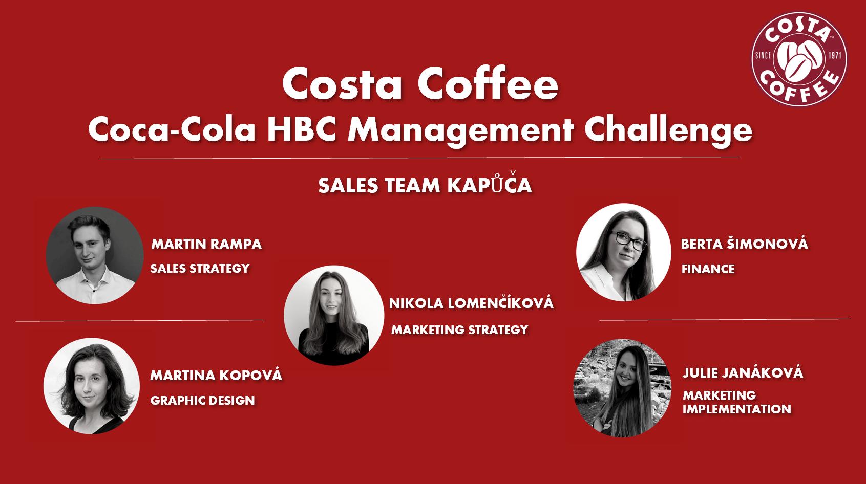 FPH studenti zvítězili v soutěži Coca-Cola HBC Management Challenge