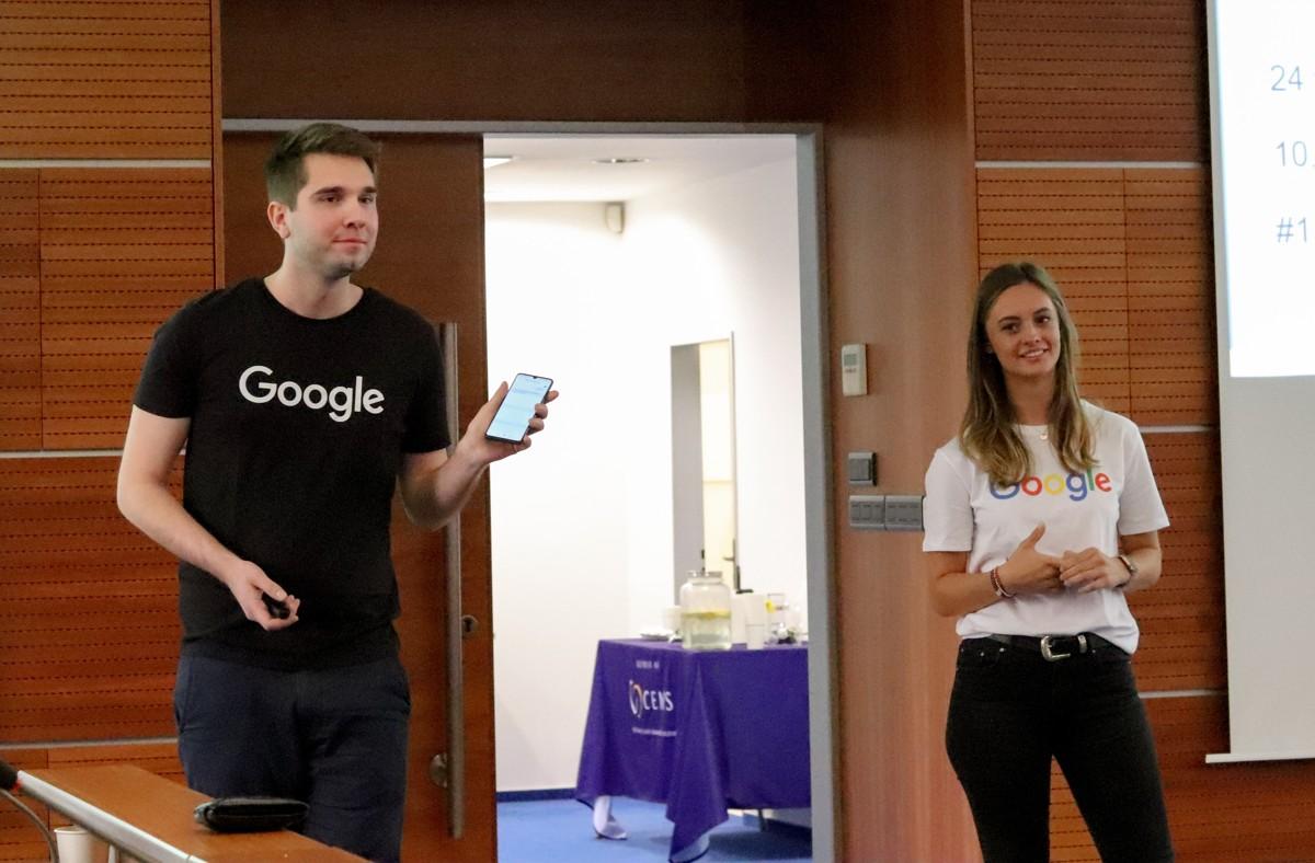 Prezentace přeshraničního CEMS Business Project pro Google