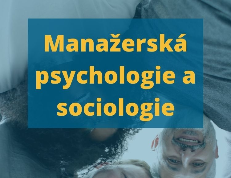 Video vedlejší specializace Manažerská psychologie a sociologie