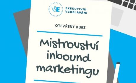 Exekutivní kurz – Mistrovství inbound marketingu /4. 9./