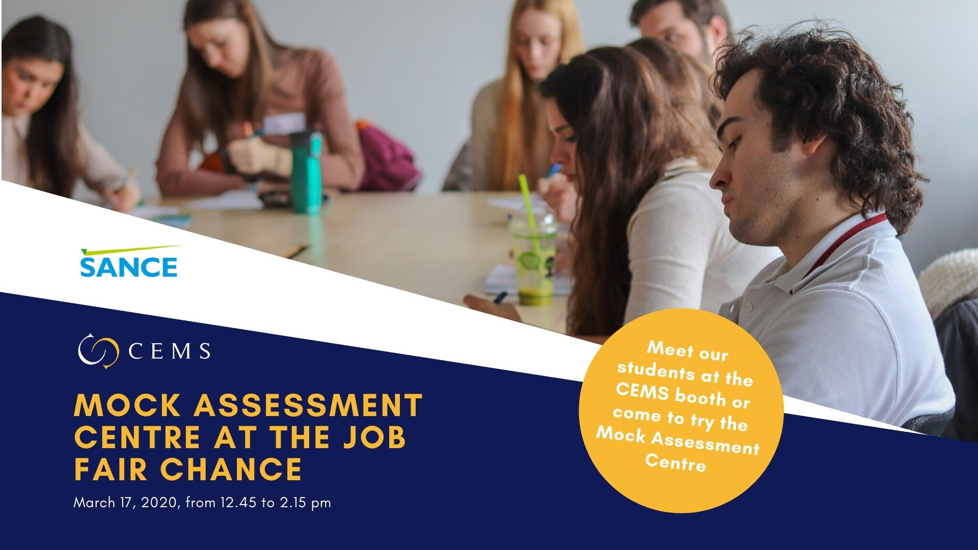CEMS Assessment Centrum nanečisto na veletrhu Šance /17. března 2020/