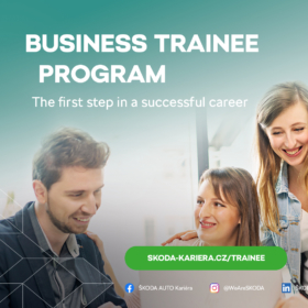 Business trainee ve společnosti ŠKODA AUTO