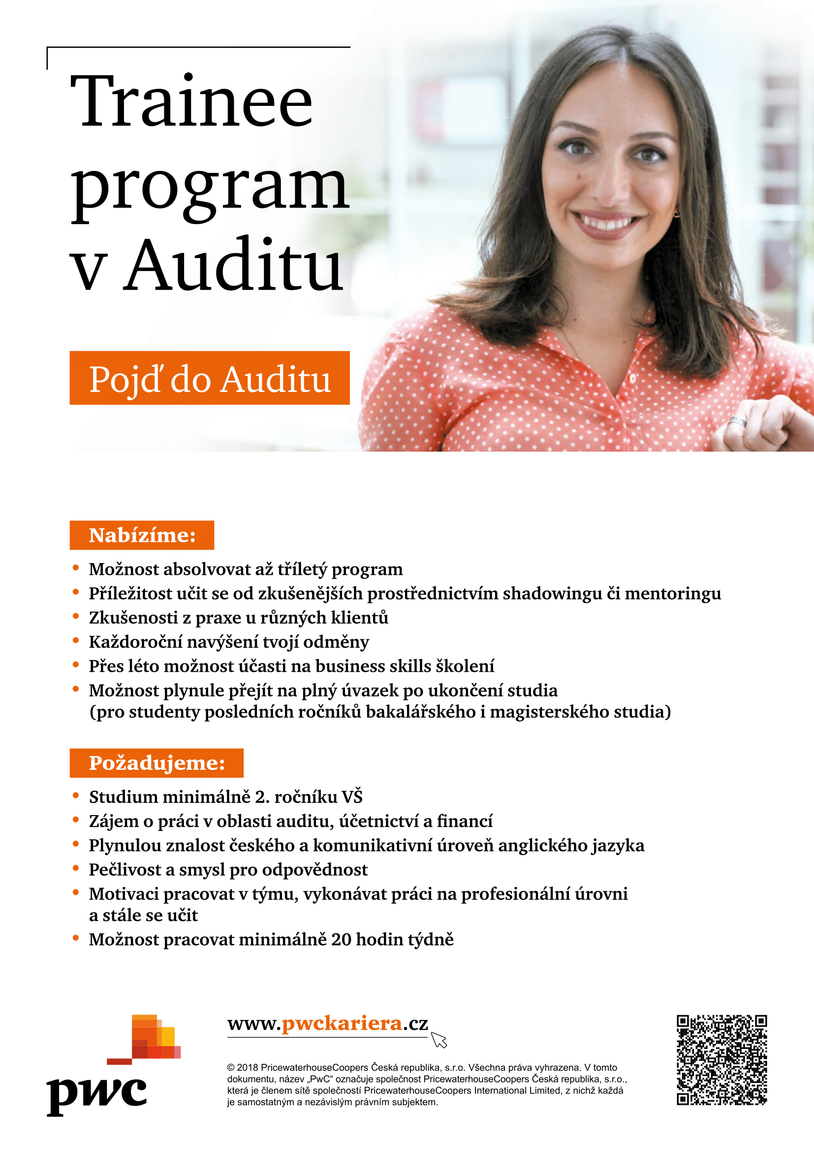 Trainee program PwC