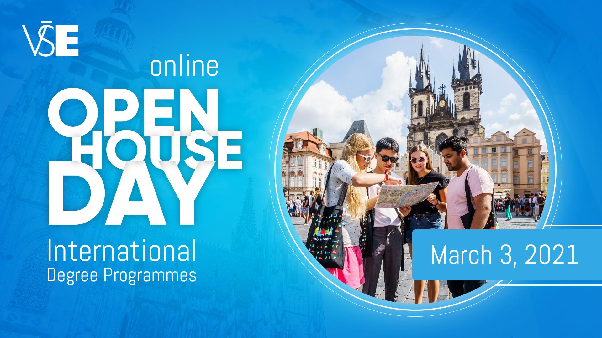 Den otevřených dveří mezinárodních programů /online, 3. března/
