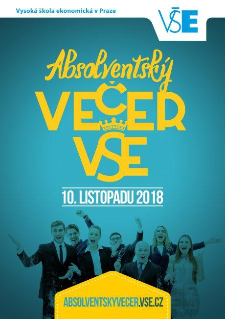Zveme vás na Absolventský večer VŠE 2018 /10.11./