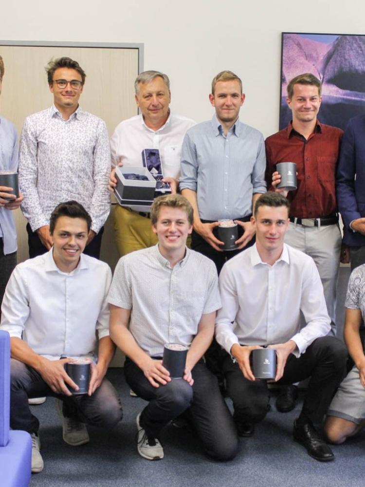 Fantastický úspěch týmu mužů FPH 7. ročníku volejbalové ligy VŠE