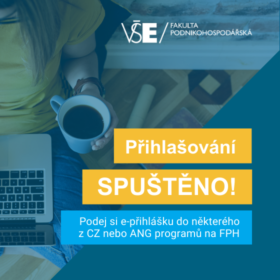 Podávání přihlášek do českých a anglických programů spuštěno